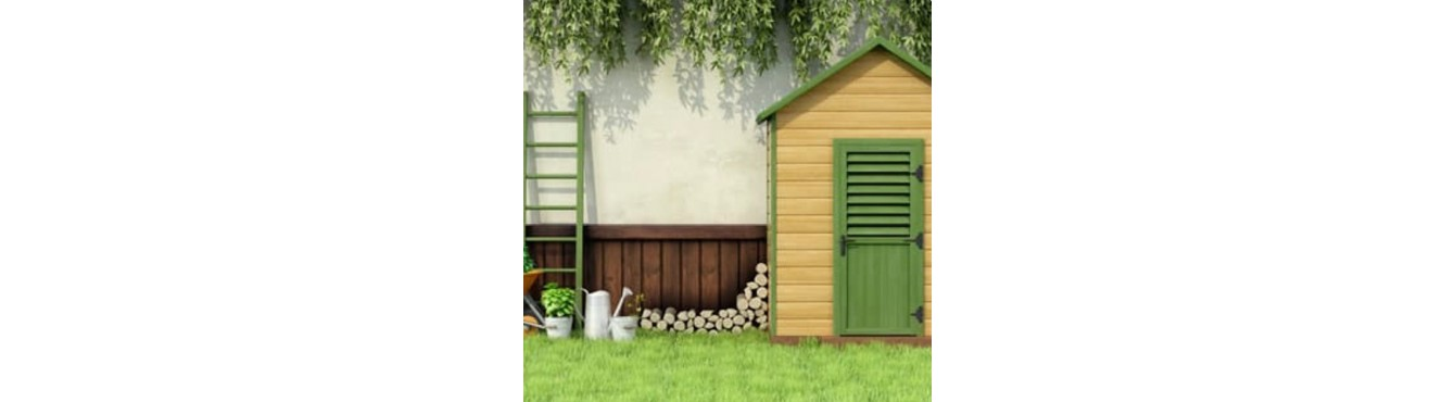 Abri de jardin / pergola